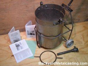 hobbymelter furnace building kit
