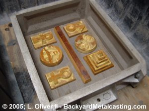 The paper weight molds