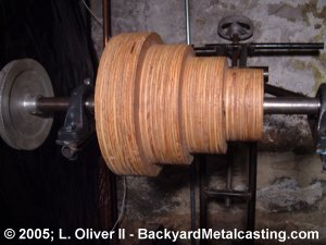 The countershaft pulley