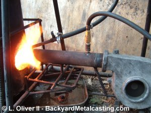 Waste oil vs cupola for Used motor oil heaters